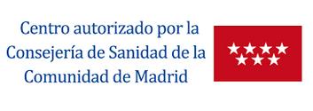 Centro autorizado por la Conserjería de Sanidad de la Comunidad de Madrid